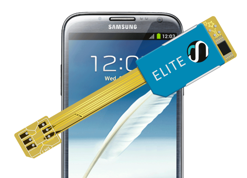 MAGICSIM Elite - Samsung Galaxy Note 2 dual sim adapter - product