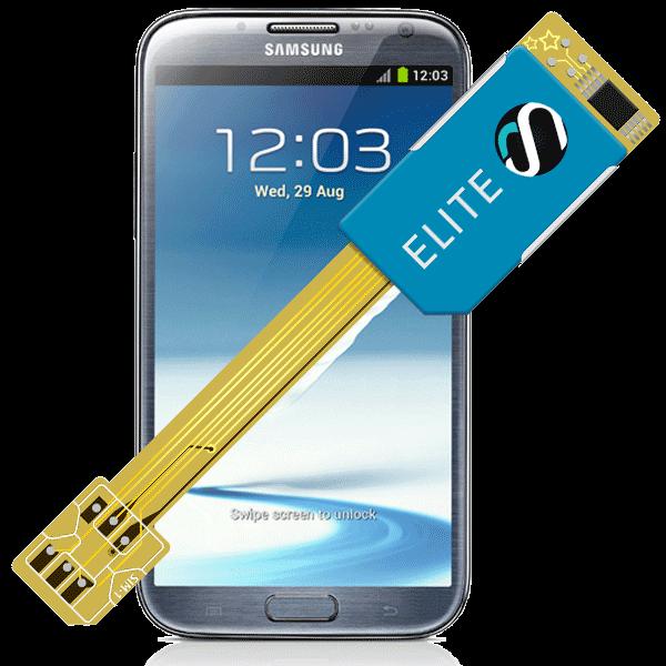 MAGICSIM Elite - Samsung Galaxy Note 2 dual sim adapter - featured
