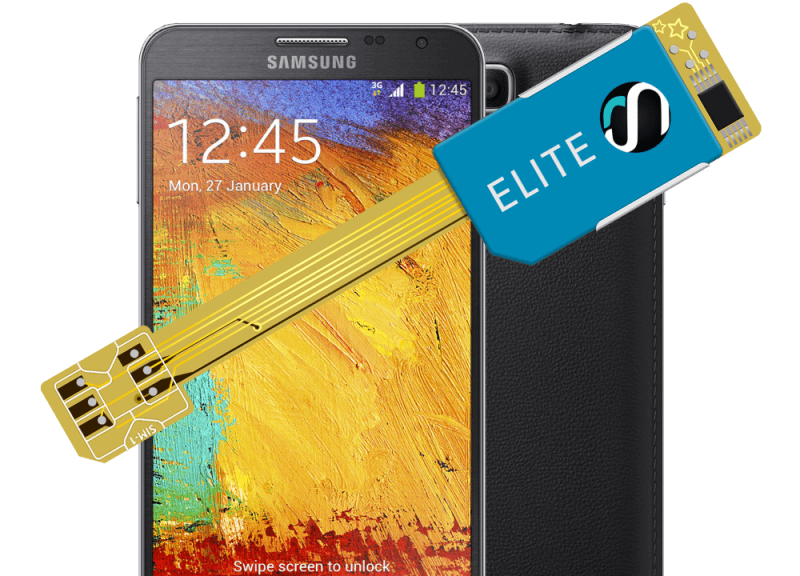 MAGICSIM Elite - Samsung Galaxy Note 3 dual sim adapter - product