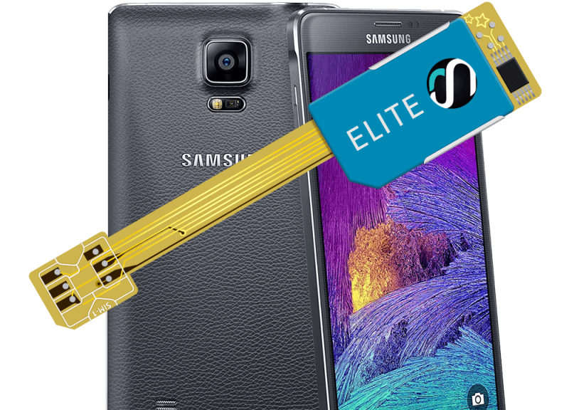 MAGICSIM Elite - Samsung Galaxy Note 4 dual sim adapter - product