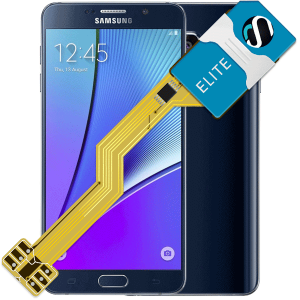 MAGICSIM Elite - Samsung Galaxy Note 5 dual sim adapter - featured