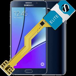 MAGICSIM Elite - Galaxy Note 5 dual sim adapter - featured