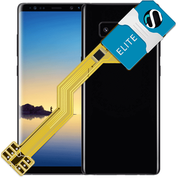 MAGICSIM Elite - Samsung Galaxy Note 8 dual sim adapter - featured