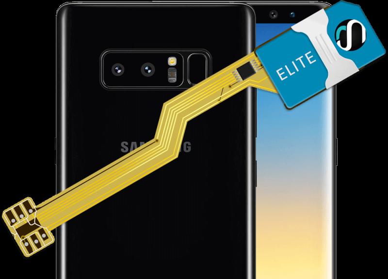 MAGICSIM Elite - Samsung Galaxy Note 8+ dual sim adapter - product