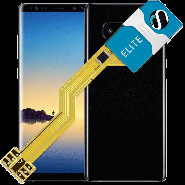 MAGICSIM Elite - Samsung Galaxy Note 8+ dual sim adapter - featured
