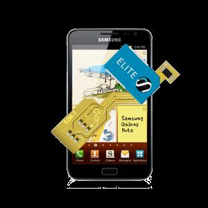 MAGICSIM Elite - Samsung Galaxy Note dual sim adapter - featured