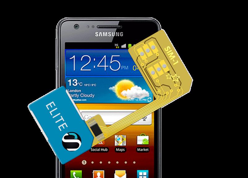 MAGICSIM Elite - Samsung Galaxy S2 dual sim adapter - product