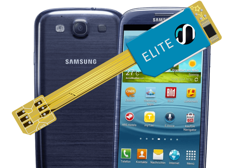 MAGICSIM Elite - Samsung Galaxy S3 dual sim adapter - product