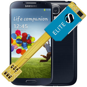 MAGICSIM Elite - Samsung Galaxy S4 dual sim adapter - featured