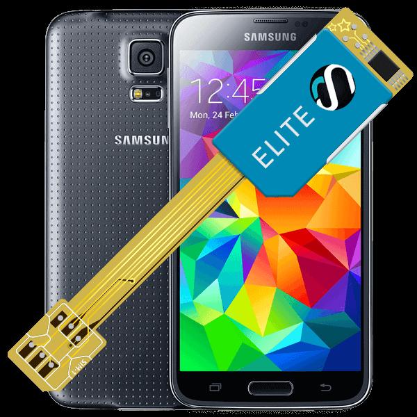MAGICSIM Elite - Samsung Galaxy S5 dual sim adapter - featured