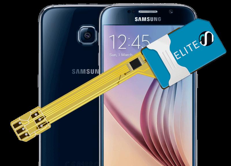 MAGICSIM Elite - Samsung Galaxy S6 dual sim adapter - producto