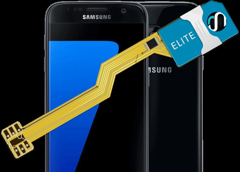 MAGICSIM Elite - Samsung Galaxy S7 dual sim adapter - producto