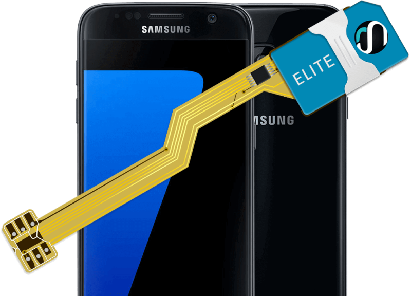 MAGICSIM Elite - Samsung Galaxy S7 Edge dual sim adapter - product