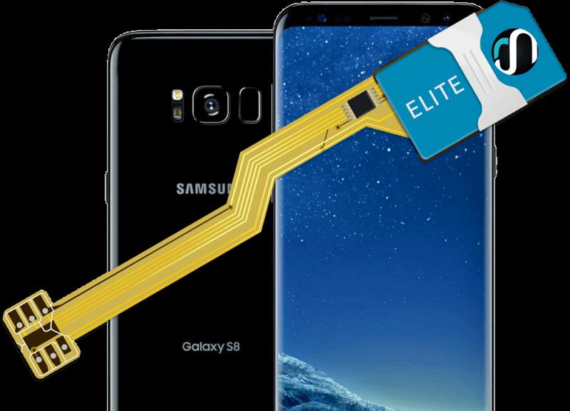 MAGICSIM Elite - Samsung Galaxy S8 dual sim adapter - product