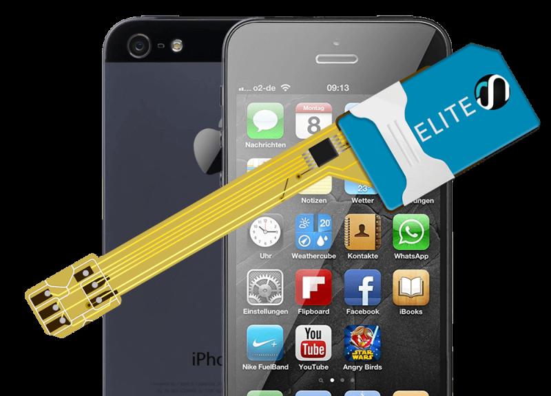 MAGICSIM Elite - iPhone 5 dual sim adapter - product