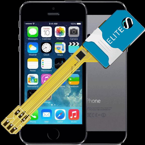 MAGICSIM Elite - iPhone 5S dual sim adapter - featured
