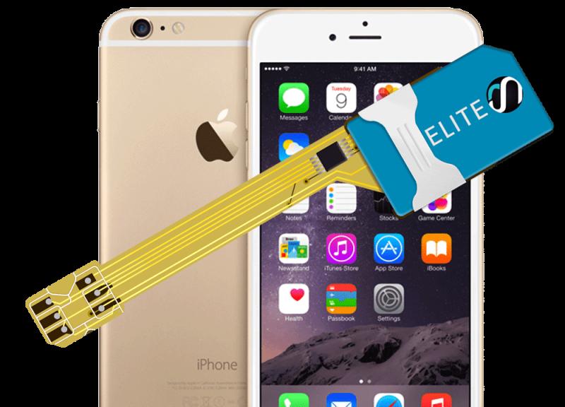 MAGICSIM Elite - iPhone 6+ dual sim adapter - product
