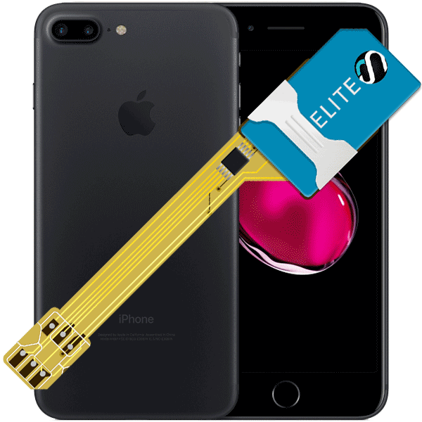 MAGICSIM Elite - iPhone 7+ dual sim adapter - featured