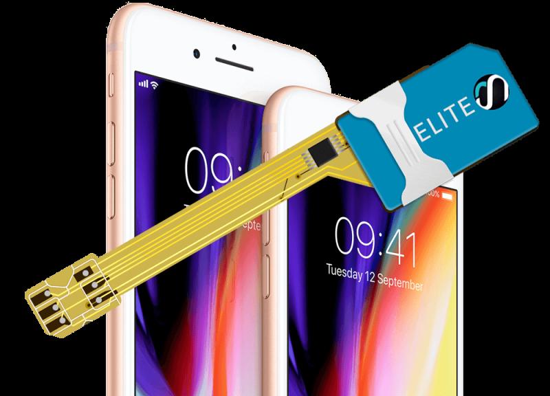 MAGICSIM Elite - iPhone 8+ dual sim adapter - producto