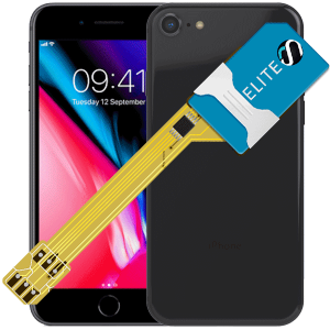 MAGICSIM Elite - iPhone 8+ dual sim adapter - featured