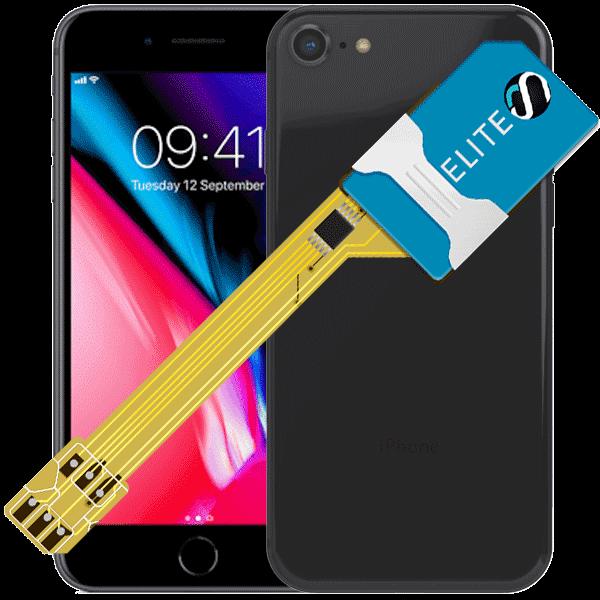 MAGICSIM Elite - iPhone 8+ dual sim adapter - featured