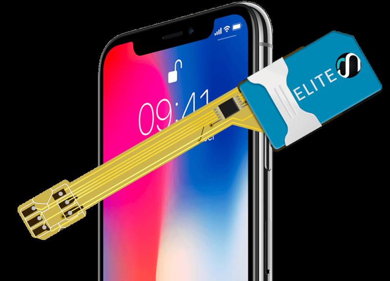 MAGICSIM Elite - iPhone X dual sim adapter - product