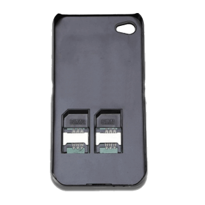 SocBlue for iPhone 5/ 5S dual sim Case - featured